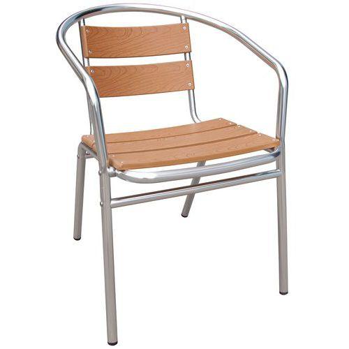 Texas Stacking Bistro Chair - Manutan
