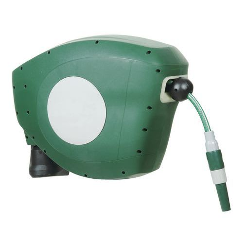 Fitted automatic wall-mounted hose reel - Hose 15 to 25m