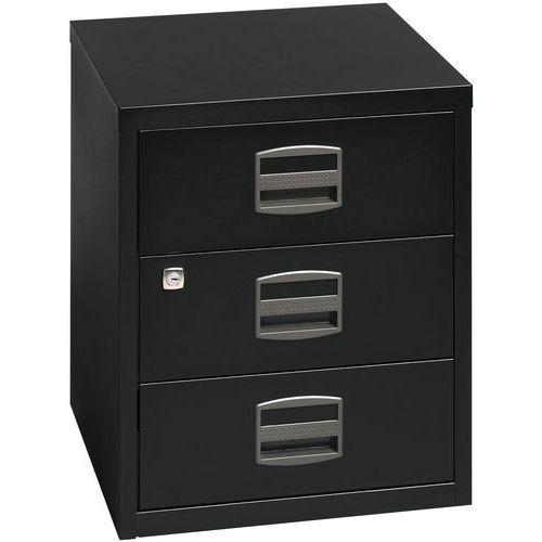 Eco Metal drawer unit - 3 drawers