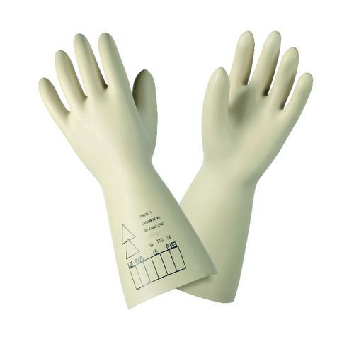 Electrician's latex gloves