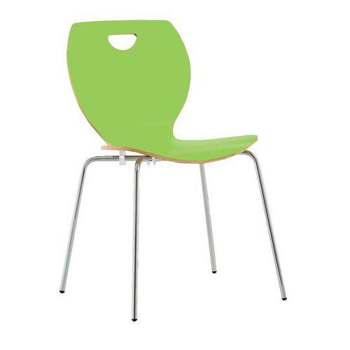 Laminate Wooden Bistro Chair