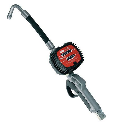 Nozzle with meter