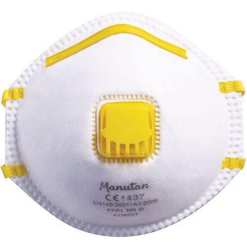 FFP1 Disposable & Moulded Half-Mask Respirator - Pack of 20