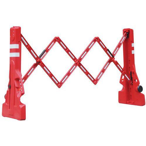 Extendable Construction Site Barrier