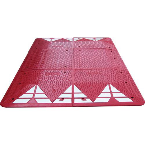 Black or red speed cushion - L2000 and L3000mm