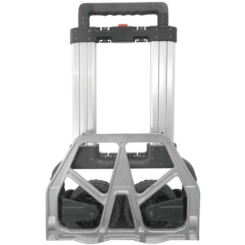 200KG lOAD FOLDING PLATFORM HAND SACK TROLLEY LUGGAGE CASE  CART BARROW FUL