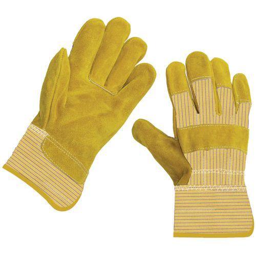 Waterproof leather gloves