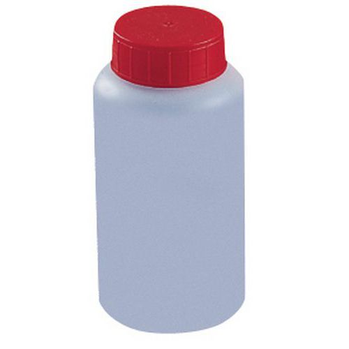 HDPE bottle with screw cap - 50 to 1000ml