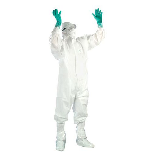 Disposable asbestos protection kit