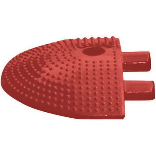 End piece for red and white speed bump, 10km/h - 20t
