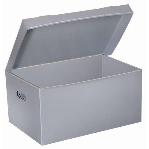 Polypropylene honeycomb archive box