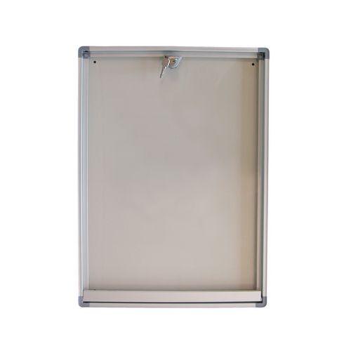 Phoenix enclosed bulletin board - Aluminium board - Plexiglas door