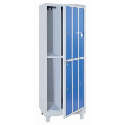 Clean linen cabinet - Wardrobe - With key - Manutan