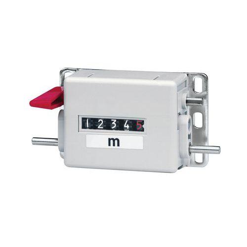 Meter counter - For Ø 20cm measuring wheel - Direction1 - Baumer