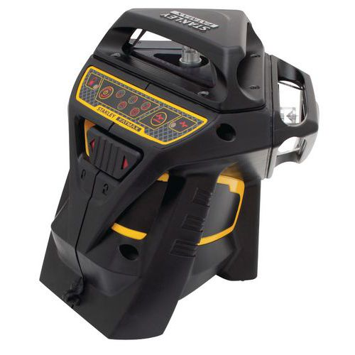 X3R-360° multi-line laser level, red