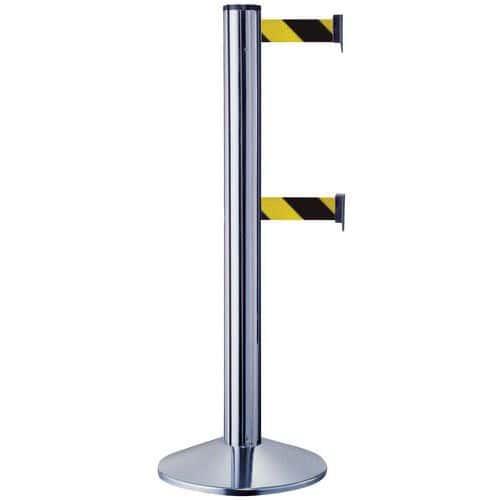 Double Strap Belt Barriers from Manutan