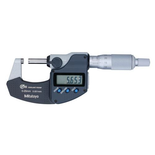 IP65 digital micrometer 0–25mm