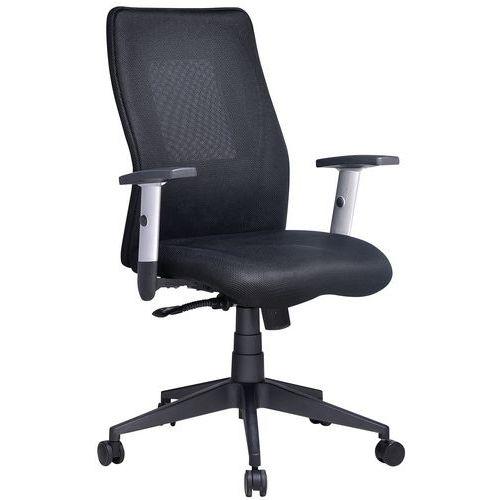 Penelope office chair with medium backrest - Fabric - Manutan