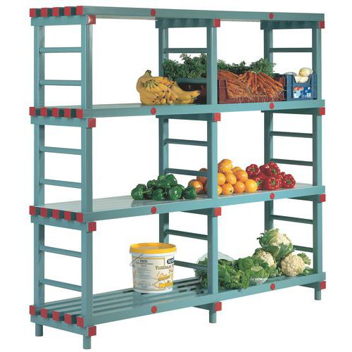 Plastic Shelving Bays - Heavy Duty