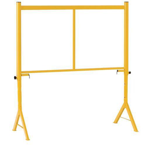 Yellow Steel Trestle - 500Kg