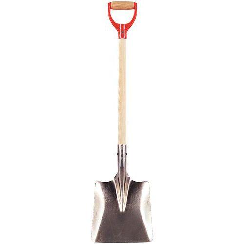 Aluminium shovel - Square - Short handle