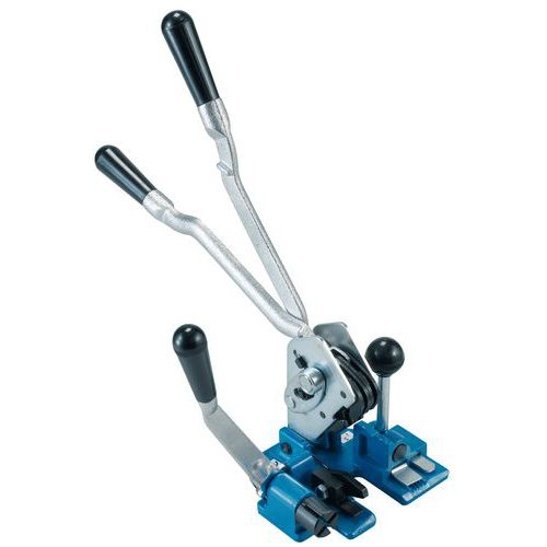 Combined manual tensioner/crimper - Polypropylene strapping