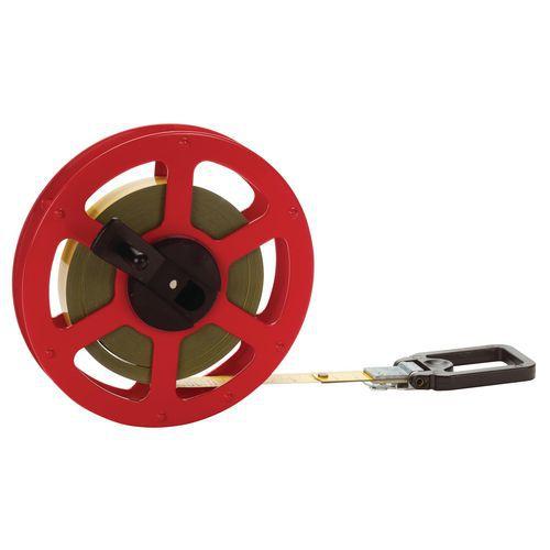 Top Ajour open reel steel tape measure