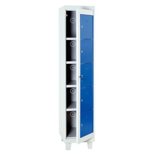 Cabinet for clean laundry - With compartments - Manutan