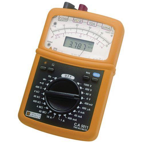 Analogue multimeter CA 5011