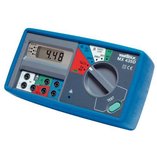 Electrical installation tester MX 435D