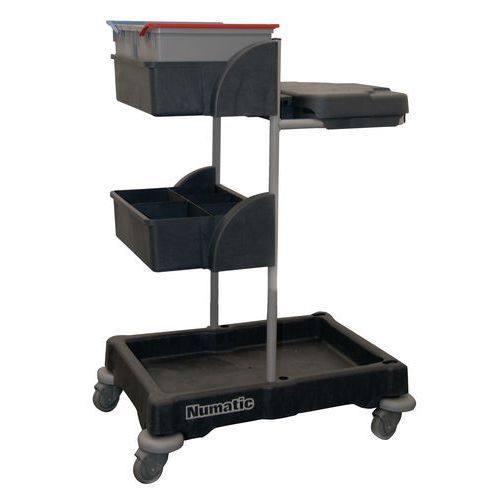 Numatic Mobile XCG3 Cleaning Trolley