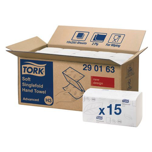 Tork Advanced H3 hand towels - Interlocked