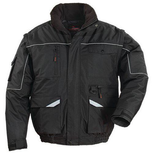Ripstop work jacket - Black