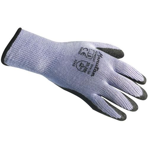 Pack of 10 Latex Coated Knitted Gloves