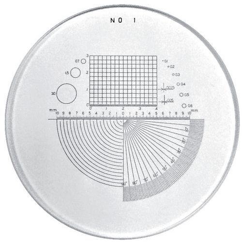 Multiple scale for PEAK precision microloupes