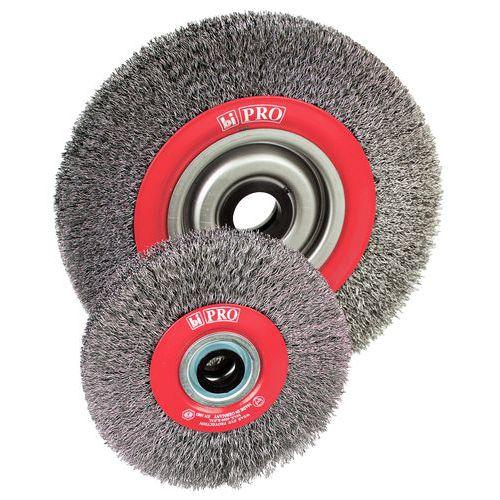 Corrugated wire drum metal brush - Steel