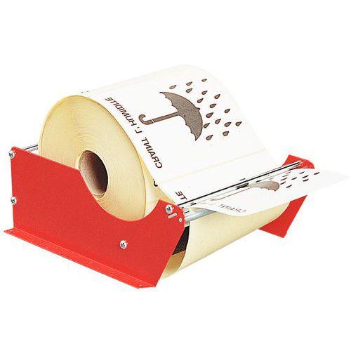 Manual label dispenser - For mounting
