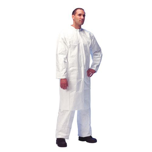 Tyvek®500 disposable lab coat