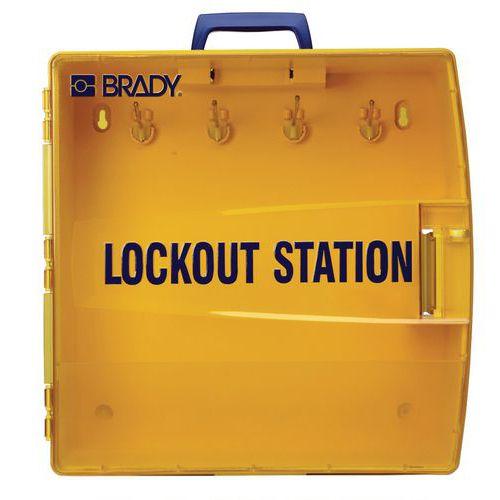Lockout equipment case