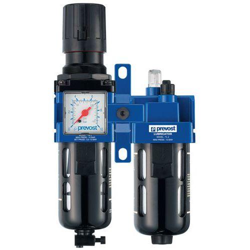 2-piece Filter Regulator Lubricator
