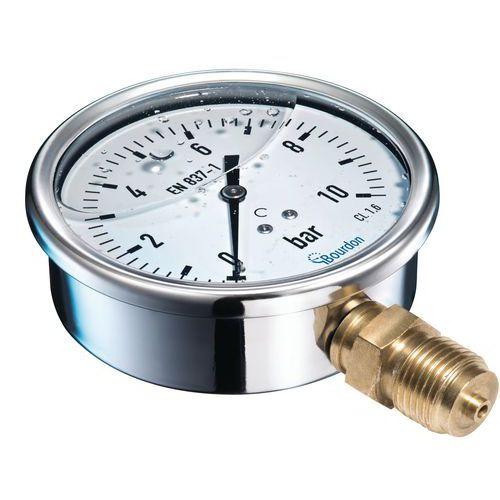 MIT manometer - Bourdon