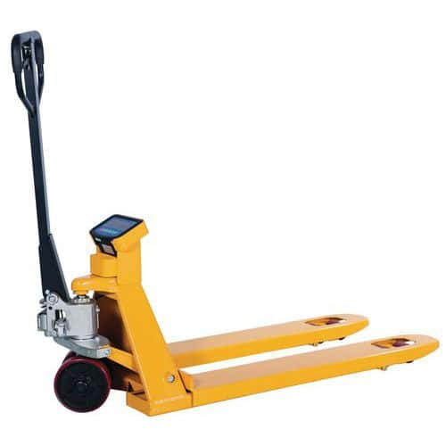 Manual pallet truck with weigher - Capacity 2000kg