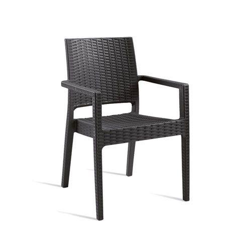 Mint Rattan Arm Chair