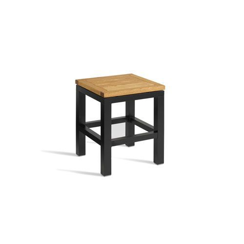 Ice Wooden Bistro Stool