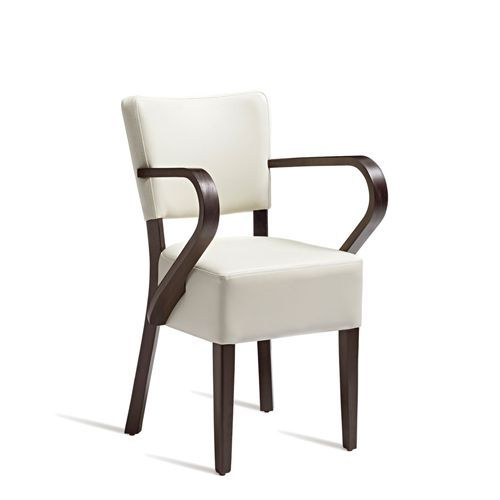 Fabulous Bistro Leather Arm Chairs Free Delivery Manutan Uk Pdpeps Interior Chair Design Pdpepsorg