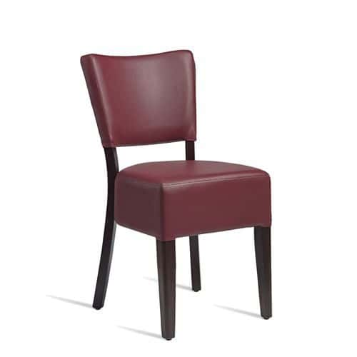 Club Side Chairs Leather Effect