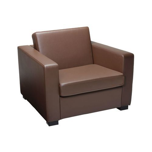 Leather Reception Arm Chair