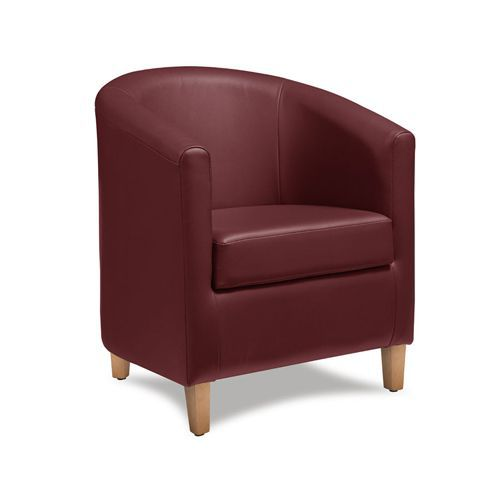 Awesome Faux Leather Reception Tub Chairs Free Delivery Manutan Uk Machost Co Dining Chair Design Ideas Machostcouk