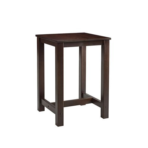 High Wooden Bistro Tables