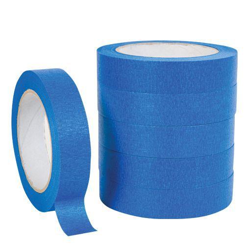 Blue UV Resistant Masking Tape - Pack of 6